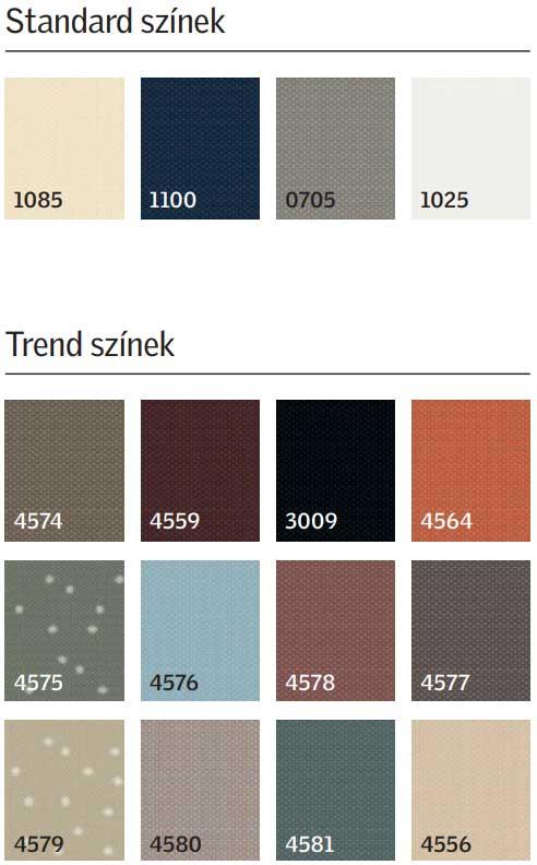 Árnyékoló színek